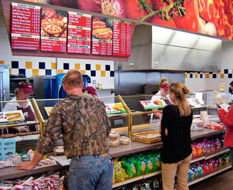 Convenience stores compete with quick service with fresh food menu items.
