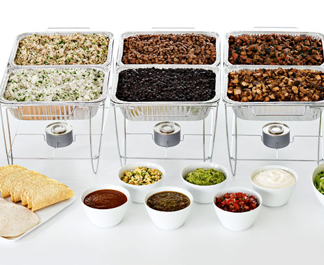 Mexican fast casual Chipotle is launching a catering service to grow business.