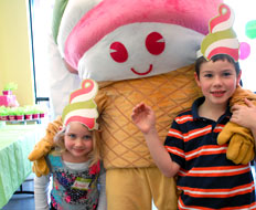Menchie's launched a new kids marketing campaign with its mascot as the focus.