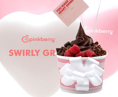 Pinkberry is offering to hand deliver its frozen yogurt as a Valentines gift.