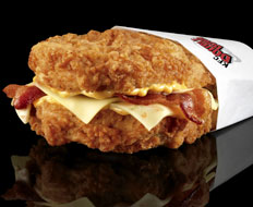 Fast food like KFC's Double Down prove unhealthy food is still popular.