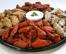 Chicken wing quick serves will especially be popular on Super Bowl Sunday.