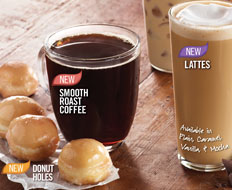 Burger King rolled out new coffee and donut options as part of a menu change.