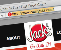 Jack's is one brand that will be severely impacted by the domain name change.