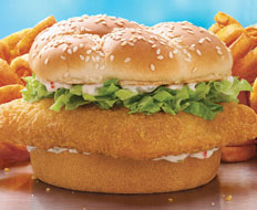Arby's offers a fried fish sandwich across the country during the Lent season.