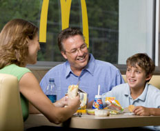 Its Happy Meal helped McDonald's perform well in the Zagat survey.