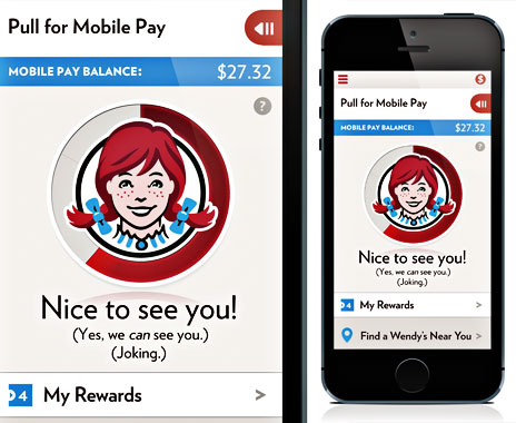 Quick service restaurants roll out smart phone app payment options for customers
