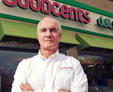 David Goebel is CEO of Goodcents Deli Fresh Subs.