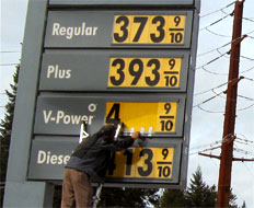 Gas prices are skyrocketing but restaurants have yet to feel the impact.