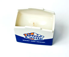 The burger-scented candles, available on White Castle's website, is a quirky add