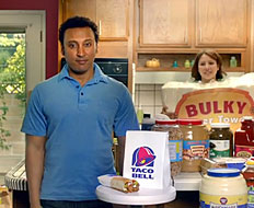 Taco Bell targets Millennials with off beat advertising.