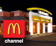 McDonald's hopes its new TV channel will keep customers in stores longer.