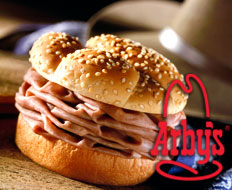 Roast beef sandwich chain Arbys is up for sale.