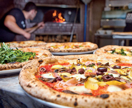 research and innovation pizza restaurant Pizza innovation signals forthcoming qsr shift  should expect major shifts in the way restaurants approach ordering and payment for food moving forward  ayoub aouad, research analyst for bi intelligence, business.