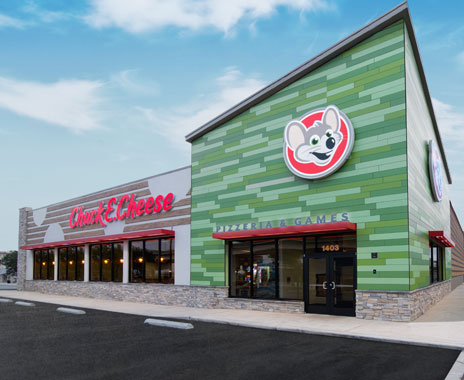 Chuck E Cheese S Unveils Fresh New Design Restaurant
