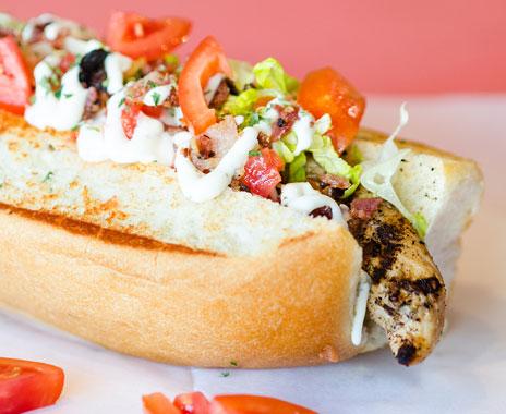 Hot Dog Restrairants Baton Rouge