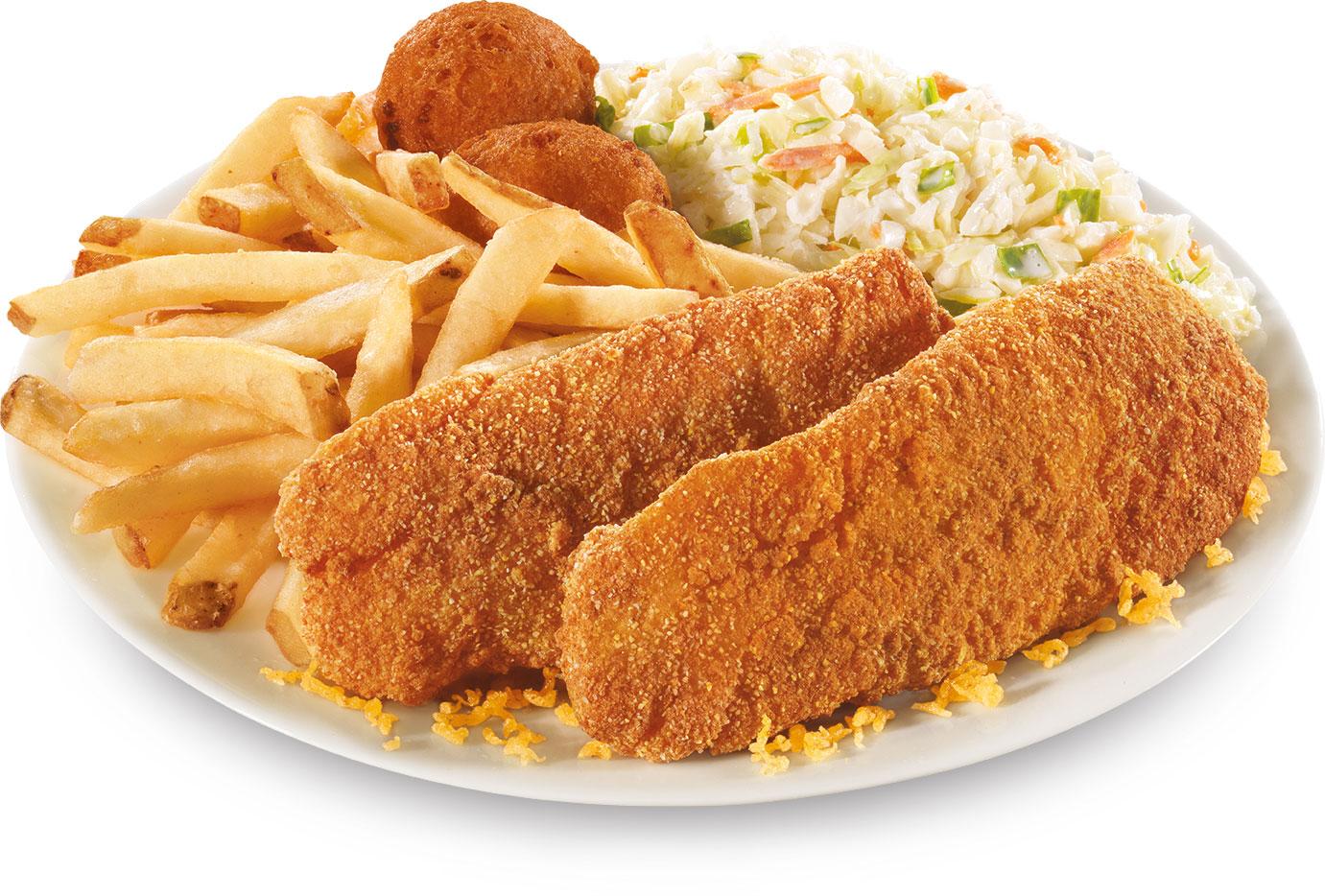 Long John Silver's new Buttermilk Cod menu item.