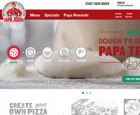 Papa John's Online Ordering Now Includes PayPal - Restaurant News ...