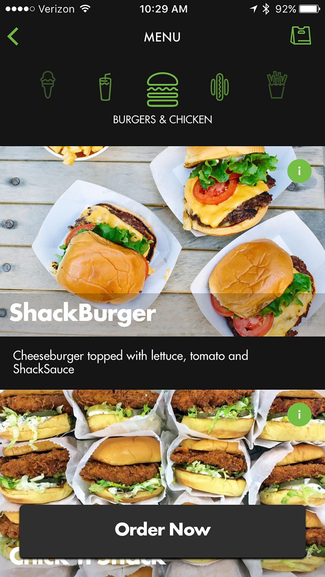Shake Shack launches new mobile ordering app.