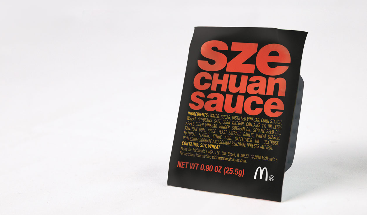 McDonald\'s Sources 20 Million Packets of Famed Szechuan Sauce ...