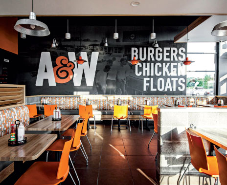 legacy fast food restaurants update concepts to blend old with new qsr magazine. Black Bedroom Furniture Sets. Home Design Ideas