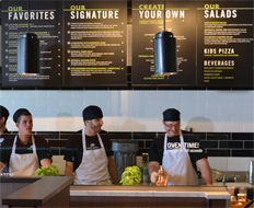 New fast food brands like Live Basil first start as innovative business ideas.
