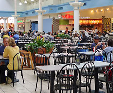 Mall food courts are getting makeover as consumers return to spend.