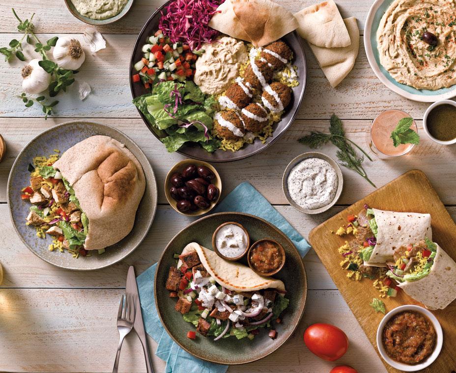 Mediterranean cuisine more than just a diet qsr magazine for Almanara mediterranean cuisine