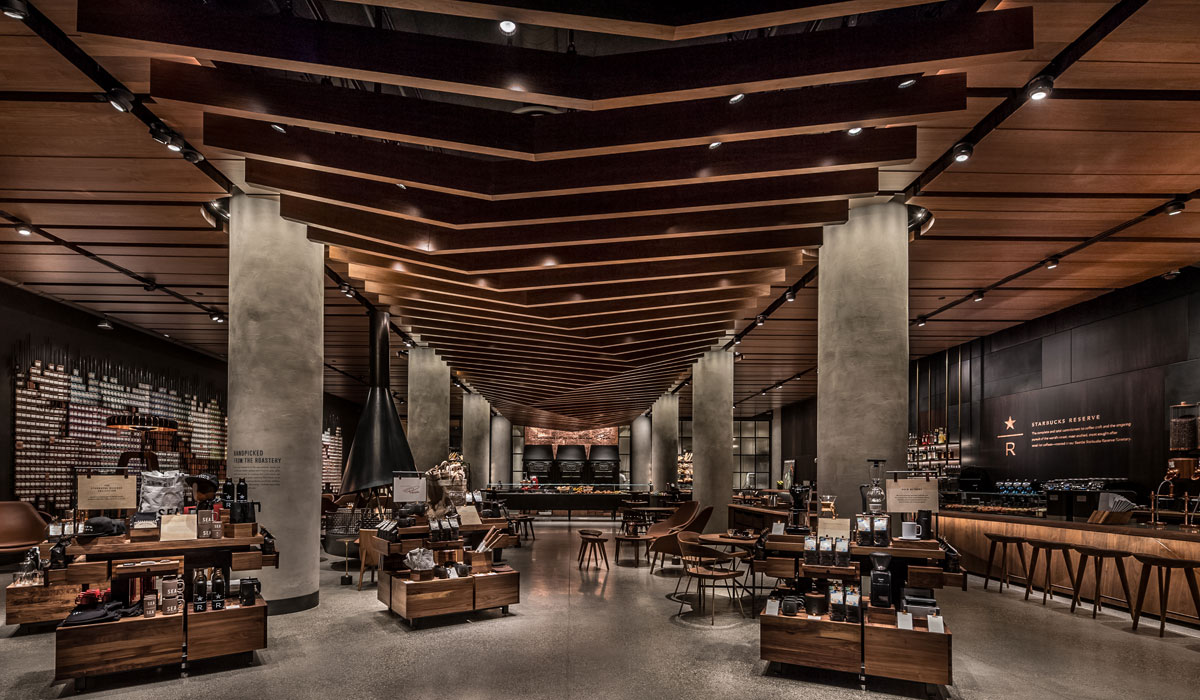 Starbucks Debuts Premium Retail Store In Seattle Qsr