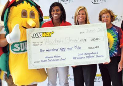 Chicago area Subway franchise partners support kids educational program.