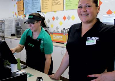 Restaurant brand Blimpie partnered with Texas nonprofit to support organization.