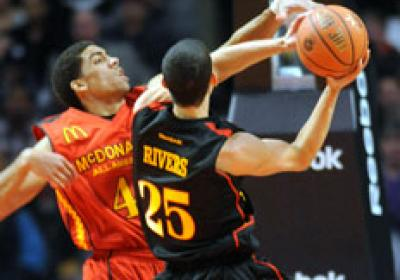 Austin Rivers, now a freshman at Duke, was a McDonald's All American.