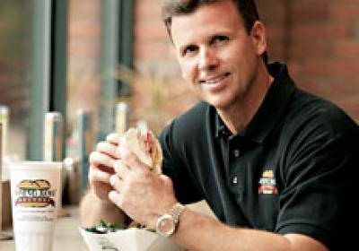 Mike Lassiter plays an important role in Rising Roll Gourmet's CSR efforts.