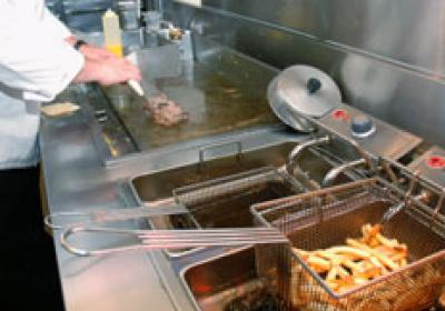 The kitchen is a critical factor in determining if an empty restaurant building