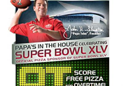Papa John's found success through its partnership with the Super Bowl.
