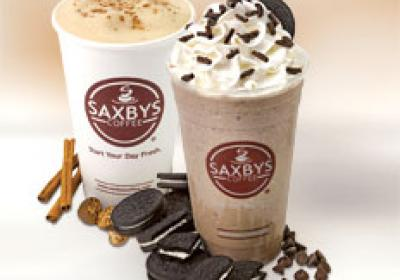 Saxbys strives to be a locally owned coffee shop alternative to Starbucks.