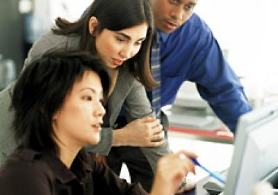Sharing ideas and brainstorming as a group is common among many restaurant execs