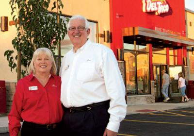 Del Taco franchisees grow brand with help from lessons learned in C suite.