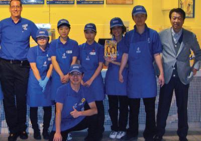 Wetzel's Pretzels franchisee promotes business in Japanese markets.