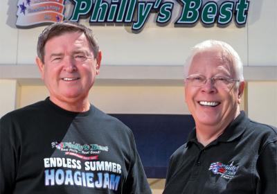 Business partners Ken Gray and Larry Erdman build franchise together.
