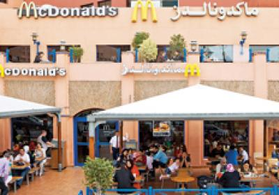 Brands like McDonald's are opening restaurants in African nations like Morocco.