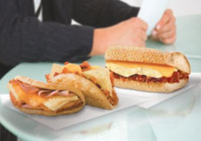 Quiznos' focus on innovation  resulted in a new breakfast roll out.  Quick-serve