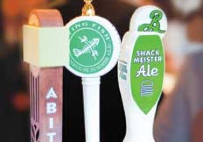 Craft beer options at quick service restaurants expand customer beverage choice.