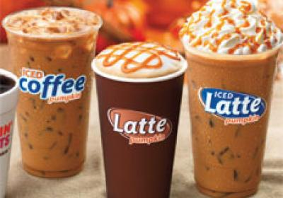 Dunkin Donuts added innovative coffee drinks to its beverage menu.