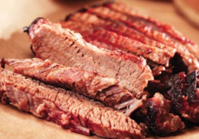 Regional barbecue menu options give customers flavors of the community.