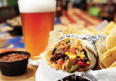 Freebirds World Burrito offers burritos, nachos, and tacos, as well as an assort