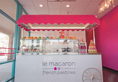 Le Macaron French Pastries' new mobile food cart is an exciting opportunity for franchisees to join in the restaurant's growth plans for less investment up front.
