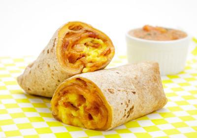 Breakfast Burrito at Lemonade.