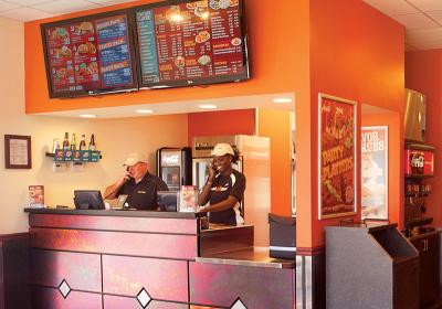 Wing Zone updated its store prototype to stay relevant with customers.