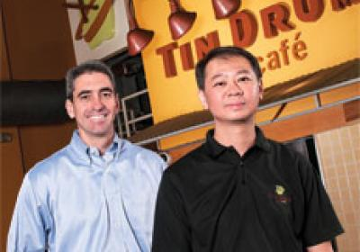 Tin Drum Asia Cafe used equity firm investment to stay debt free in growth.